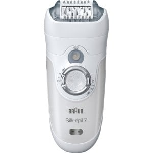 Best Epilator Face: Braun SE7681 Silk-épil 7 Wet and Dry Epilator is our pick for epilating facial hair in women.
